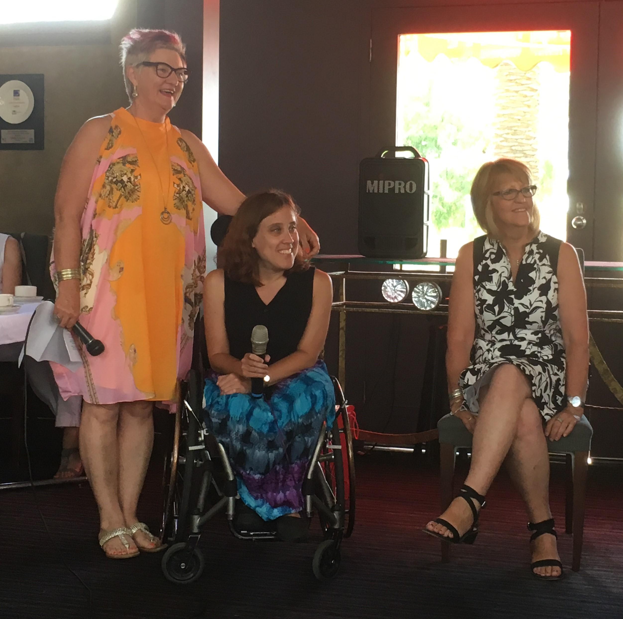 Genevieve O'Reilly ,Kate Fiedler,Sue Davis