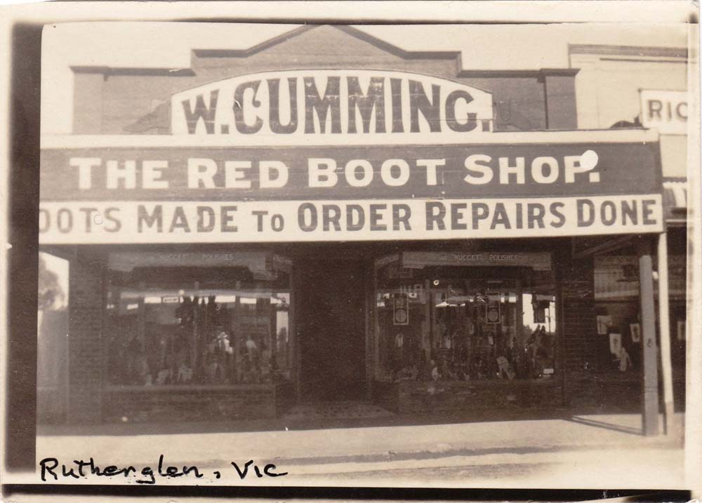 The Red Boot Shop
