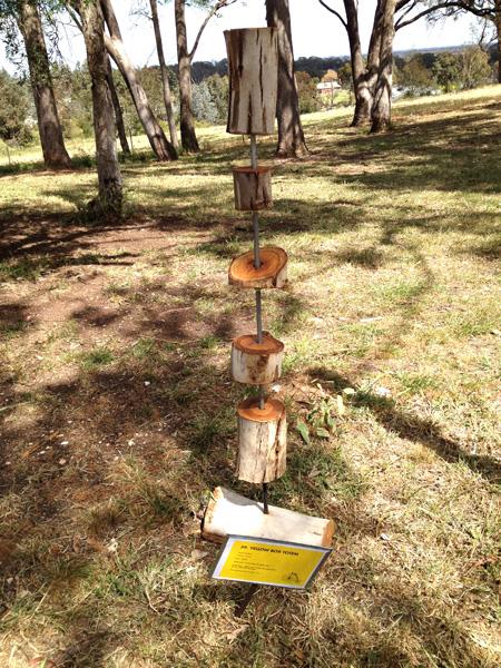 Geoff Wilmot - Yellowbox Totem