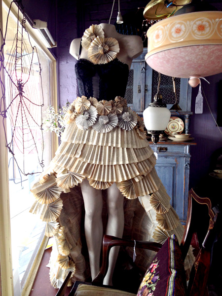 Mady Cook - Paper Dress (yr 10 student)