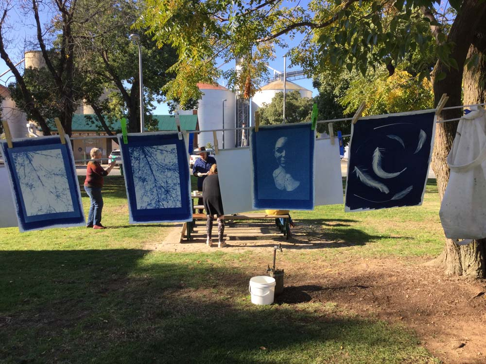Cyanotype Workshop June 2019