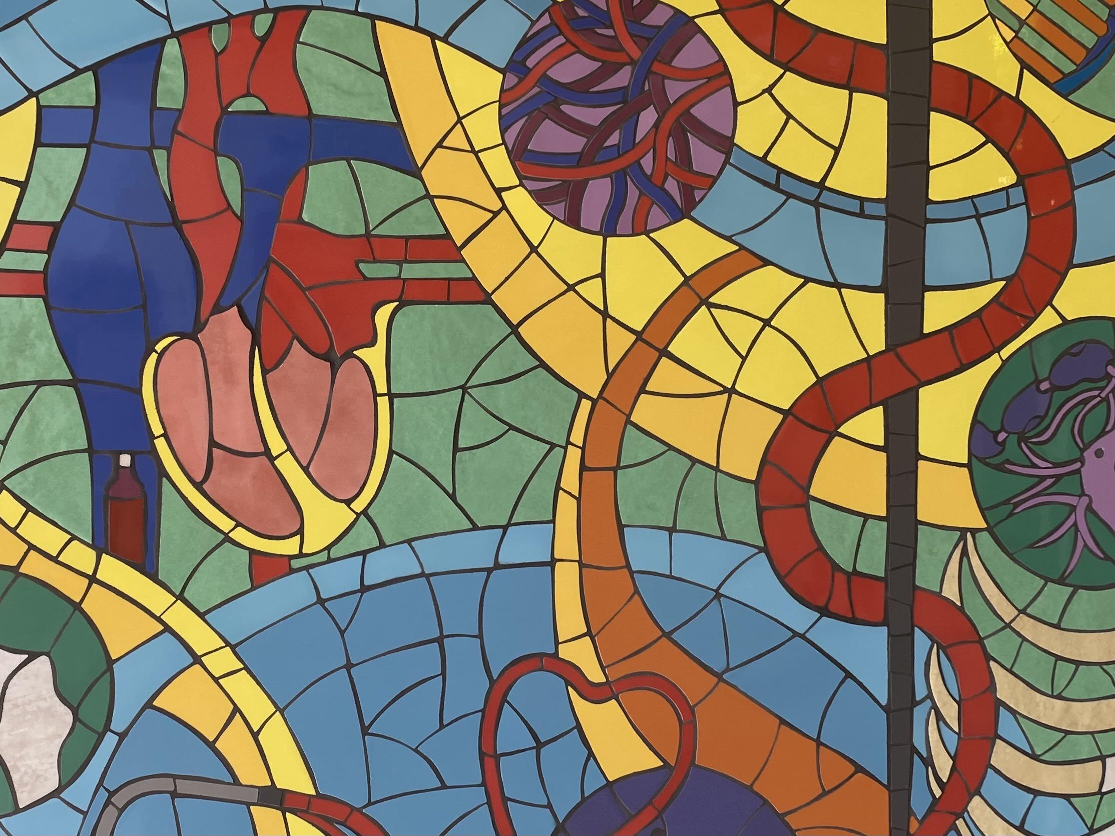 Symbols of Practice mosaic