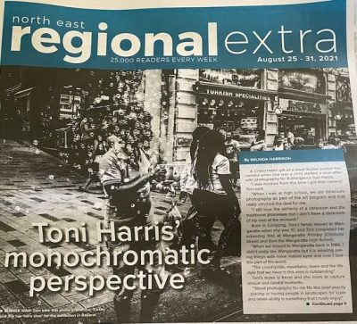 Toni Harris monochromatic perspective